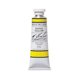 ARTISTS' OIL COLOR, HANSA YELLOW, 1.25 OZ