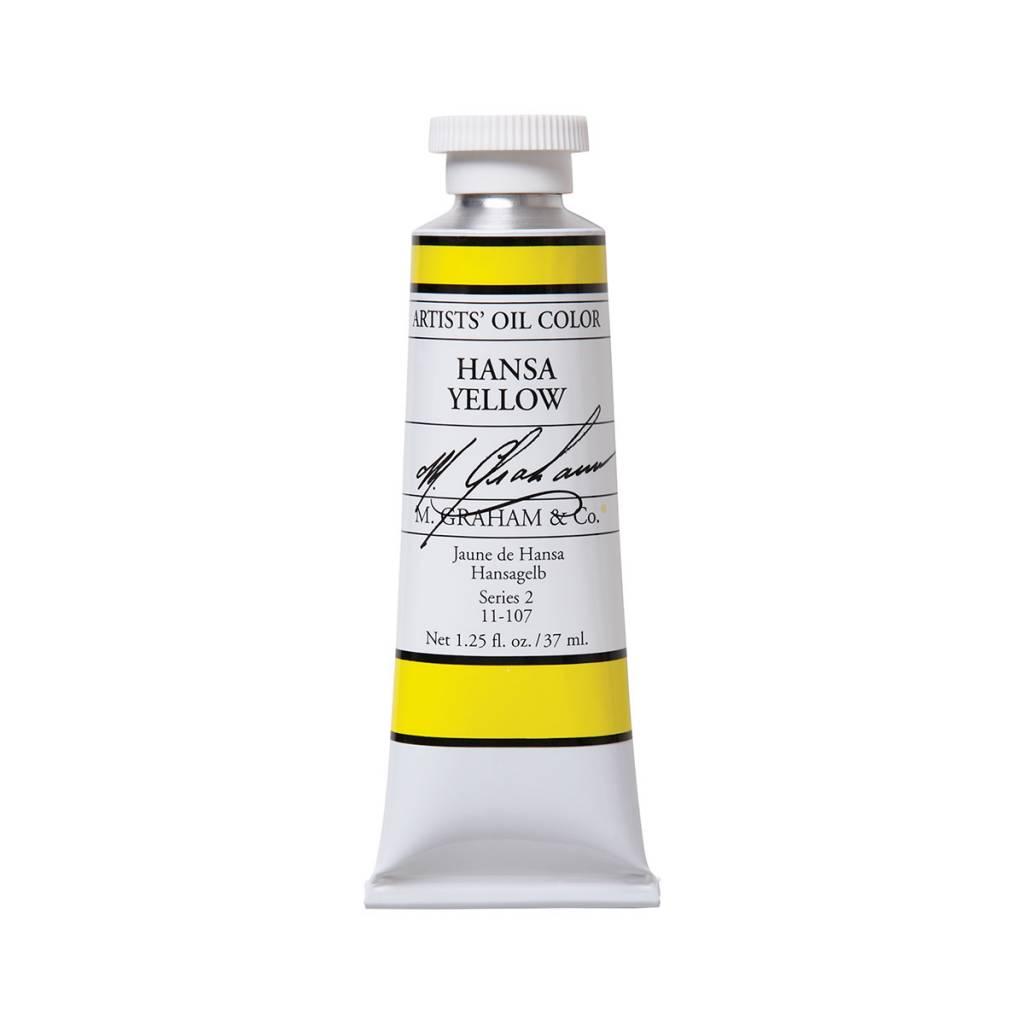 ARTISTS' OIL COLOR, HANSA YELLOW, 1.25 OZ