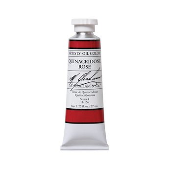 ARTISTS' OIL COLOR, QUINACRIDONE ROSE, 1.25 OZ