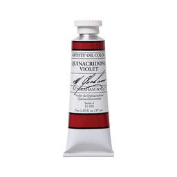 ARTISTS' OIL COLOR, QUINACRIDONE VIOLET, 37ML