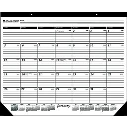 At-A-Glance 2019 Calendar Year Desk Pad Calendar