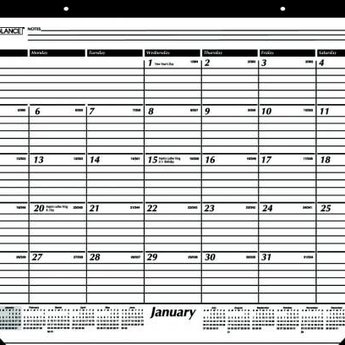At-A-Glance 2019 Calendar Year Desk Pad Calendar