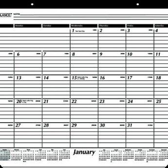 At A Glance 2020 Calendar Year Desk Pad Calendar