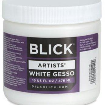 Blick Artists' White Gesso, 16 oz.