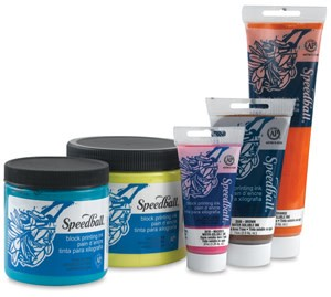 BLOCK PRINTING INK, 5 OZ,