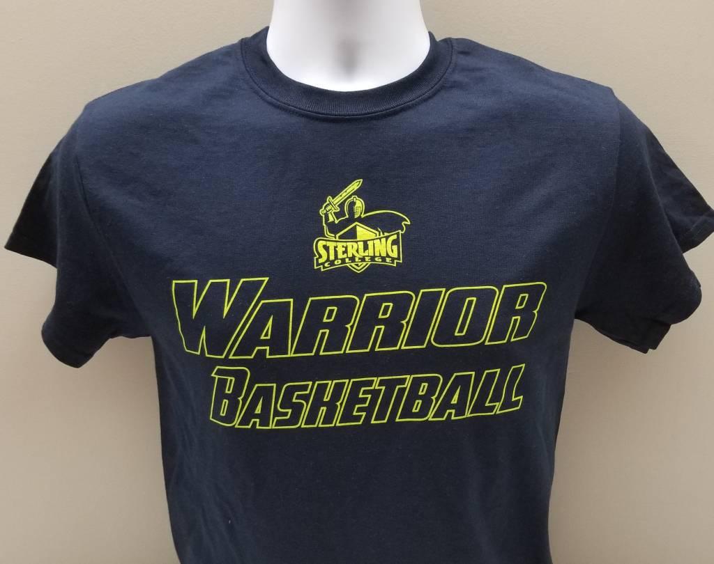 Men's Basketball Tee, Navy
