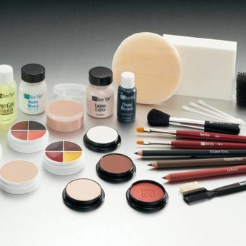TK6 BROWN/LT-MED THEATRICAL MAKEUP KIT