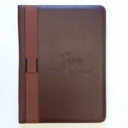 Norwood Vintage Style Padfolio, Brown