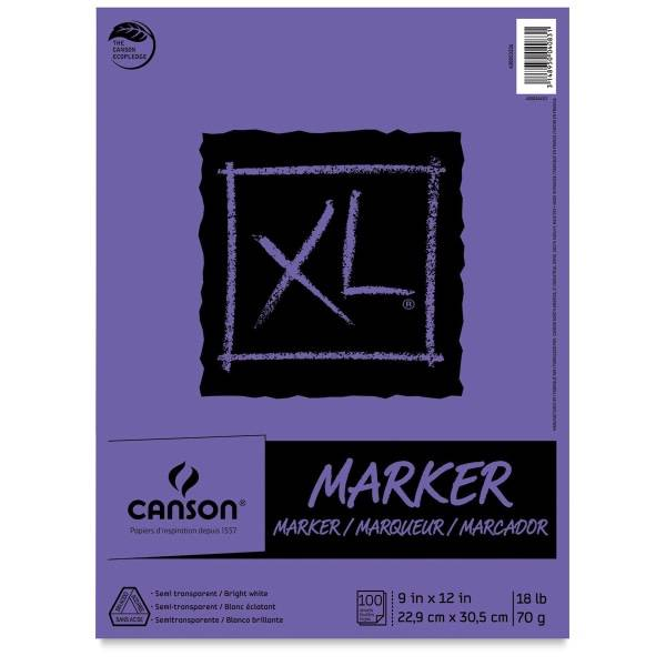 """Canson XL Marker Pad, 9""""x12"""""""