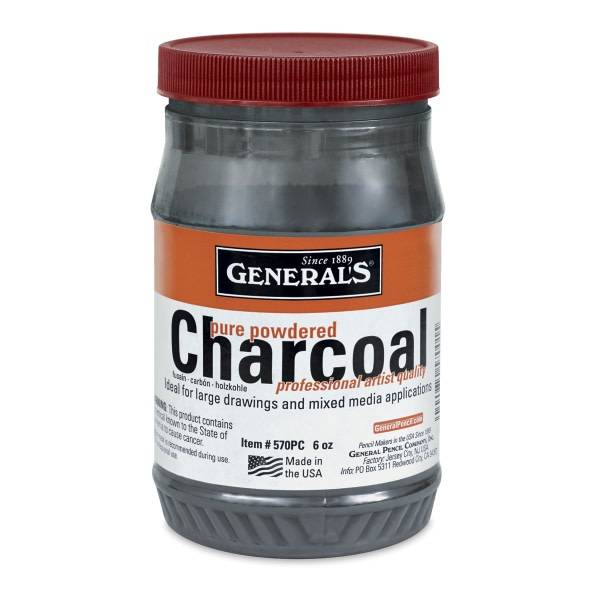 General's Powdered Charcoal, 6 oz