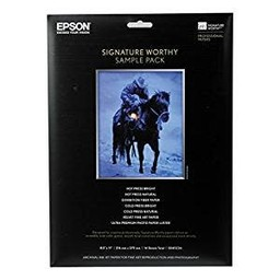 Epson Signature Worthy Sample Pack - 8.5x11, 14 Sheets