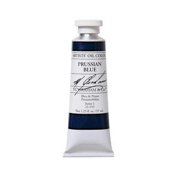 ARTISTS' OIL COLOR, PRUSSIAN BLUE, 1.25 OZ