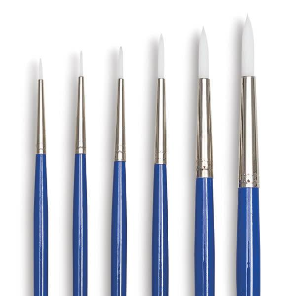 Brush-SCHOLASTIC WONDER WHITE BRUSHES, SET OF 6