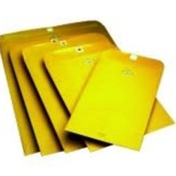 Franklin Clasp Envelopes, 6 in x 9 in, 100ct