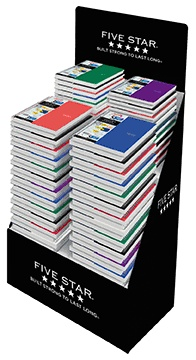 "Five Star® Traditional Notebooks; 11"" x 8-1/2""; College Ruled, 100 Sheets"