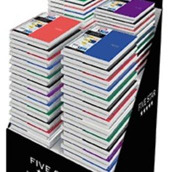 Five Star® Wirebound Notebook, 3 Subject, 9-7/8