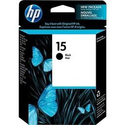 HP 15 Ink Cartridge, Black