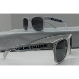 Campus Shades Sunglasses,  White