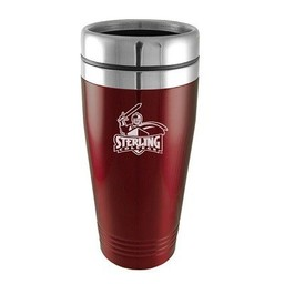 LXG Tumbler, 16 oz. Stainless Steel,  Burgundy