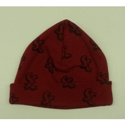 Third Street Sportswear, Newborn Baby Cap,  Red
