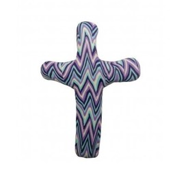 Pocket Cross, Purple Chevron