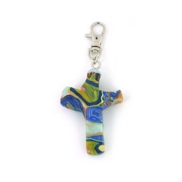 Cross Clip, Abalone