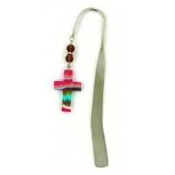 Cross Bookmark, Tie Dye