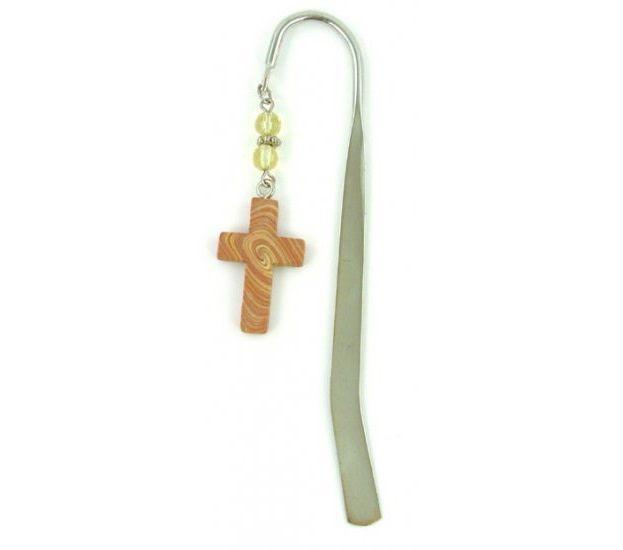 Cross Bookmark, Wood