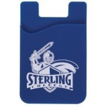 Cell Phone Card Holder, Blue