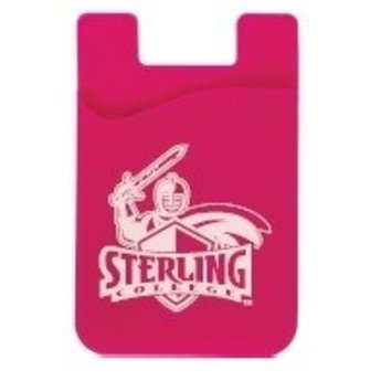 Cell Phone Card Holder, Pink