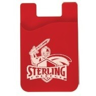 Cell Phone Card Holder, Red