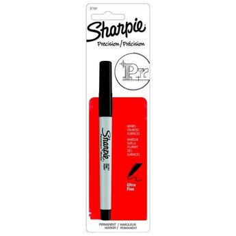 Sharpie Permanent Marker, Ultra Fine, Black