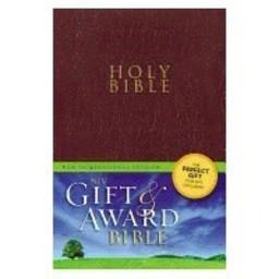 Gift and Award Bible-NIV-Burgundy