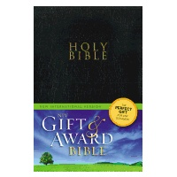 Gift and Award Bible-NIV-Black