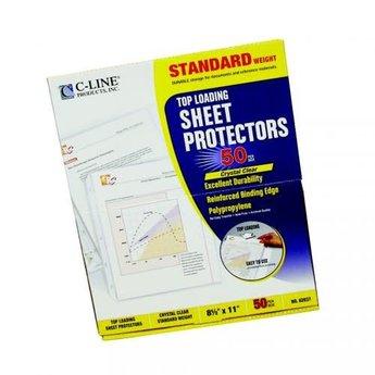 Sheet Protectors, C-Line, 50ct