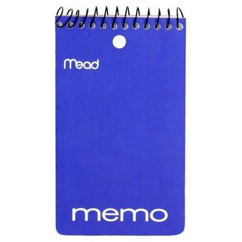 Mead Memo Book, 3 in x 5 in, 60ct