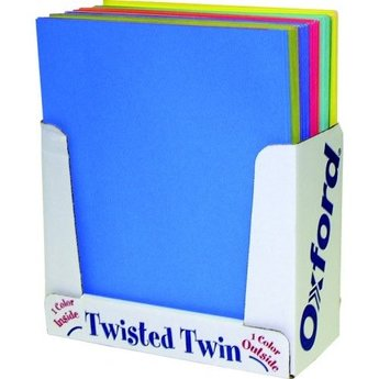 Oxford Twisted Twin Pocket Folder