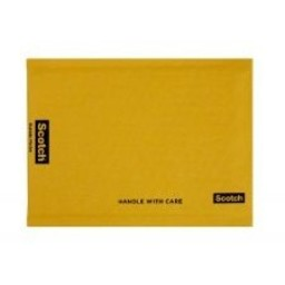 "Scotch® Plastic Bubble Mailer, #0, 6"" x 9"""