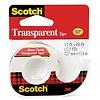 Scotch Transparent Tape, 1/2 in x 450 in