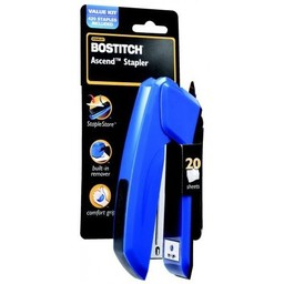 Bostitch Ascend Stapler w/Remover, Blue