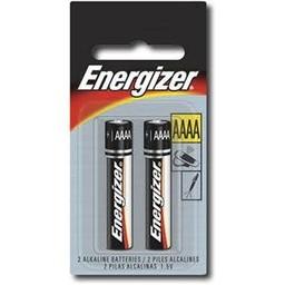 Energizer AAAA Batteries, 2ct