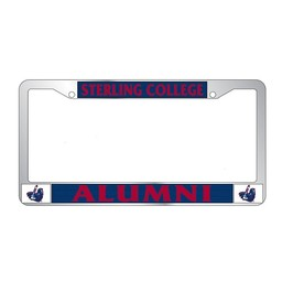 License Plate Frame, Alumni
