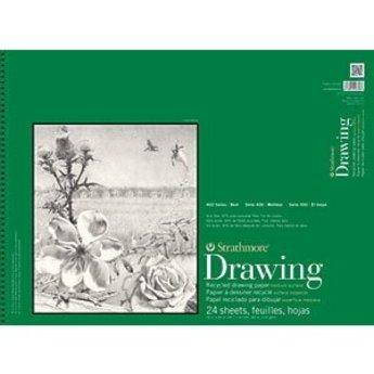 "Strathmore 400 Series 18"" x 24"" Drawing Pad, 24 sheets"