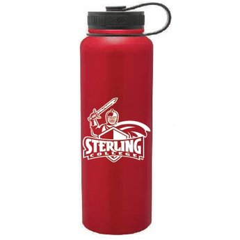 40 oz. Red Stainless Steel Peak Bottle