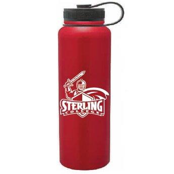 40 oz. Red Stainless Steel Peak Bottle