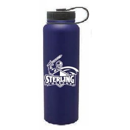 40 oz. Navy Blue Stainless Steel Peak Bottle