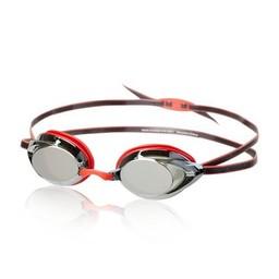 Speedo Vanquisher 2.0 Mirrored Goggle - Red/Black