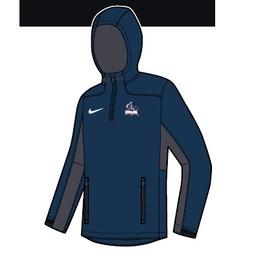 Nike Woven 1/4 Zip Jacket - Navy Blue -