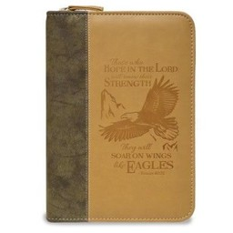 Zippered Journal: Brown Wings of Eagles