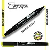 Zebrite Double End Bible Marker, Yellow